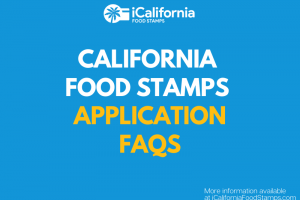 """California food stamps application questions"""